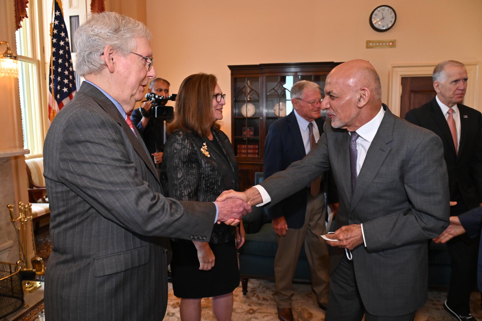 Leader McConnell Meets President Ashraf Ghani of Afghanistan
